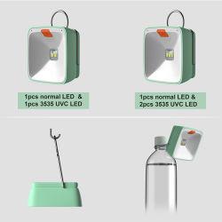 휴대용과 적당한 소형 LED 태양 독서용 램프