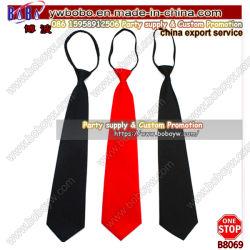 Los hombres de la Escuela de seda jacquard cliente atar la bufanda de seda Corbata Corbata de poliéster Bowtie (B8069)