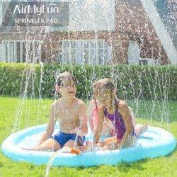 La moda Tiburón inflable patio jardín agua juegan juguetes para niños de la almohadilla