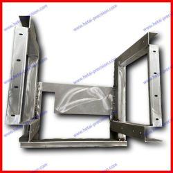 Conception personnalisée OEM ODM L'estampage de découpe laser de flexion de soudage de fixer le support de montage en rack de produits métalliques de panneau