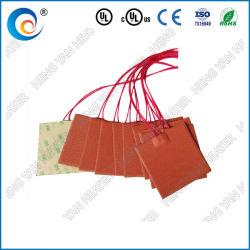 Calefacción eléctrica Industrial mantas/pad/calentador de caucho de silicona resistente al agua la Hoja de 12V