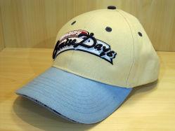 주문을 받아서 만들어진 좋은 품질 싼 면 샌드위치 자수에 의하여 돋을새김되는 골프 모자