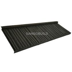 가나 스톤은 알루스틸 태양열 지붕을 코팅했습니다. 고전적인 재활용 지붕입니다 빌라 오피스 스쿨 지붕을 위한