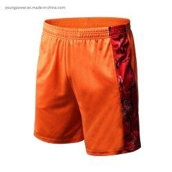 La Mens Sportswear sublima la malla Basketbal Rugby Tenis de béisbol Hockey Jersey Ciclismo Bicicleta corriendo Shorts con Pocket Plus Size