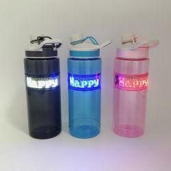 Оптовая торговля Linli портативные пластиковые 800 мл спорта чашки с светодиодный дисплей