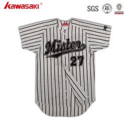 カスタム夏の卸売の方法通気性のアメリカの野球ジャージー