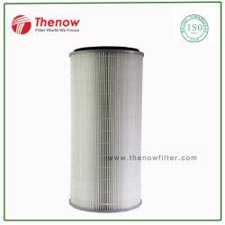 Filtre de fumées de soudage des éléments de filtre de l'extracteur, Filtration de fumées