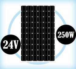 태양 전지판 24VDC 250W Monocrystalline 모듈