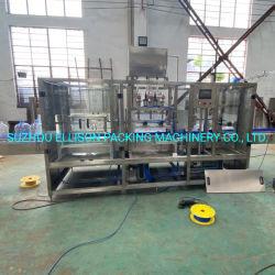 Automatische 5 Gallonen-Zylinder-Wannen-reiner Mineraltrinkwasser-Füllmaschine-Abfüllanlage-Produktionszweig Verarbeitungssystem für 10L/15L/20L