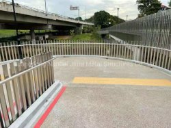 RVS Railing Bridge Fence Road Balustrade Barrier schermen