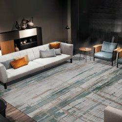 Tapis Beige vert foncé Morden tapis de plancher de tapis en laine Tapis en acrylique