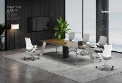 Diseño moderno de la Oficina Comercial de la melamina mesa