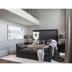 2016 جديدة تصميم فندق حديث خشبيّة غرفة نوم أثاث لازم جناح مجموعة