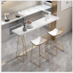Mesa de Bar Cafetería Sala de estar en casa de hierro forjado mesa de comedor