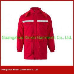 preço de fábrica barato homens Reflective roupas de inverno de alta visibilidade jaqueta de Segurança (W770)