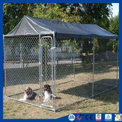 Heavy Duty galvanizado perro ejecute Kennel mascota Casa
