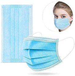 Одноразовые 3 Ply Слои Медицинской Защиты Защита от Пыли Маску для Лица с Маркировкой CE (В)