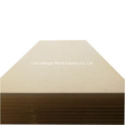 アラブ首長国連邦のための装飾的な建築材料のWanael 1220*2440mmの未加工中型の密度の有機質繊維板、明白なMDF