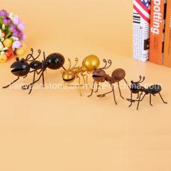 Утюг искусства Ant монтаж на стене дома украшения ремесла металлические украшения животных