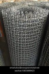 Haut Telas en acier au carbone Onduladas-Crimped Wire Mesh