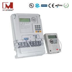 100A 3 Phasen IR-Tastenfeld Mete für Gebäudemanagementsystem