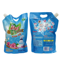 Package gratuit Design Meilleure qualité des matières premières de l'huile de noix de coco de détergent en poudre à laver