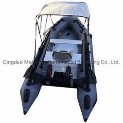Barca di rematura gonfiabile rigida robusta di pesca del PVC 360 della Cina del Ce i migliori con la tenda