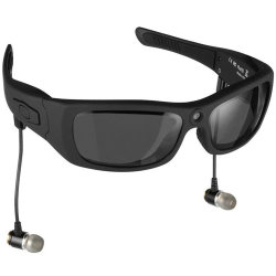 Rt-321 Sport Fashion Auricular Bluetooth MP3 de gafas de sol con cámara de vídeo