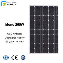 265W Mono Haute Efficacité PANNEAU SOLAIRE PV Module de Cellule