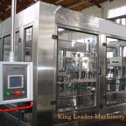 Las botellas de PET de Gas Gas provocando el agua de bebida de jugo de beber cerveza Isobaric embotellado de relleno que hace la máquina