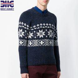 Великолепное цельновывязанное изделие Cachemire Intarsia дизайн перемычку Pullover пуловер для мужчины