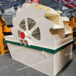 Grande capacité double de la rondelle de sable de roue