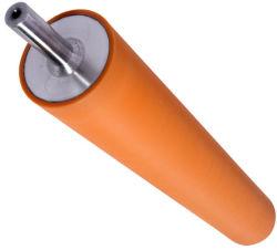 Het Lamineren van het silicium de Rubber Verpakkende Rol van het Wiel Foiling voor de Lijn van het Omhulsel van het Afgietsel van het Frame van de Architraaf van de Houtbewerking