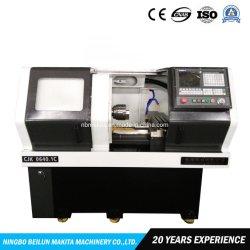 Heiße Verkaufs-flaches Bett automatische metallschneidende CNC-Drehbank-Maschine mit Fanuc Controller