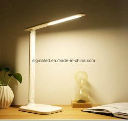 Vendas quente LED Recarregável Dobrável luz de leitura de livros com carregamento USD 1.5 Fios