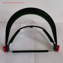 Suporte Universal de adaptador capacete com viseira clara de PVC Protetor de rosto viseira capacete de segurança