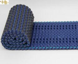 Modular de fricción de la parte superior de caucho sistema transportador de correa correa Modular plástico cinta transportadora de proteger los bienes