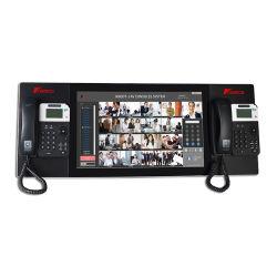 Knddt-1-AV21 Audio & Video consola del operador del sistema de teléfono del Centro de Software de cliente con el soft de emergencia de Metro Dispatcher