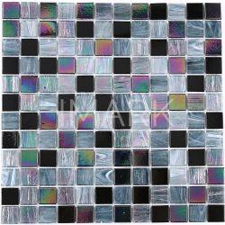 tegels van het Mozaïek van het Glas van de Kleur van 23mm de Lichtgevende voor het Behandelen van het Zwembad