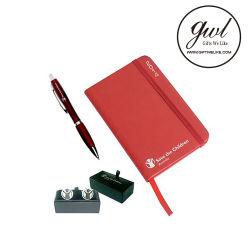 Ordinateur portable avec kit de cadeau de plumes pour cadeau promotionnel (P013)