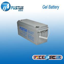 Pustun 12V 150Ah свинцовых солнечной Гелиевый аккумулятор глубокую цикла и аккумуляторы