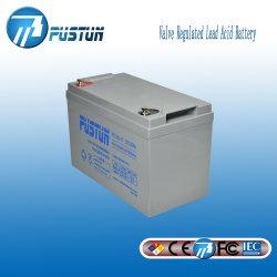 De verzegelde Zure Batterij 12V 100ah van het Lood voor Steun, Vrij en Navulbaar Onderhoud