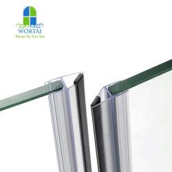 Customized Dool Magenitc Preta de vidro à prova de porta do banheiro PVC fita de vedação