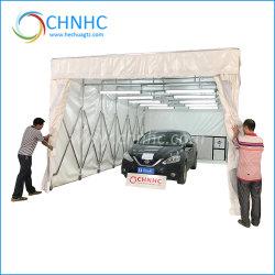 중국 제조자 자동 정비 움직일 수 있는 철회 가능한 또는 휴대용 접히는 차 이동할 수 있는 분무 도장 부스