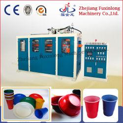 Автоматическая четыре столба пластмассовые чашки воды пластину питание в салоне Conainer бумагоделательной машины