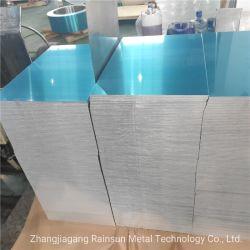 Plaque en alliage en aluminium extra plat pour les produits électroniques avec film PVC bleu