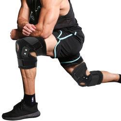 卸売はスリップ防止鋼鉄サポートの保護波カッコを実行する膝パッドのバスケットボールを遊ばす