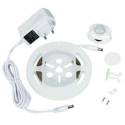 5050 RGB LEDのストリップLight+Autoの動きセンサースイッチ+ 12V 2A力のアダプター
