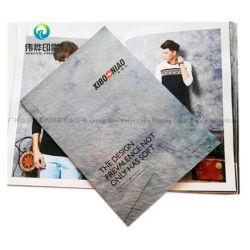 Livro personalizado de moda /Brochura/ Catálogo/impressão de revistas