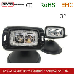 12V/24V E-Mark 3''10W Osram 미니 LED 작업등 4x4 자동차 루프